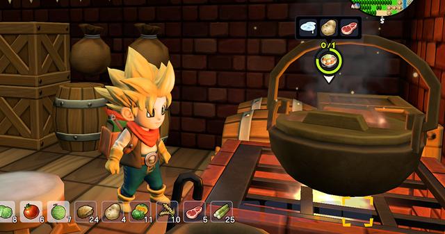 <b>【勇者斗恶龙 创世小玩家2】游戏内所有料理食谱彙整表格一览!</b>
