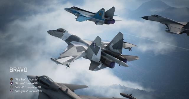 【空战奇兵 7:未知天际】24台冠名机体出现条件攻略教学!