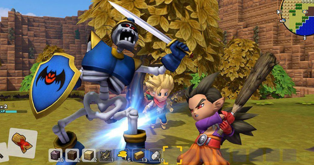 【勇者斗恶龙 创世小玩家2】教你如何获得2把最强神剑,破坏隼剑、洛特之剑!
