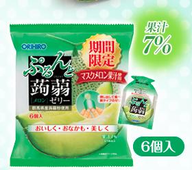 ORIHIRO日本蒟蒻果冻-只能托运