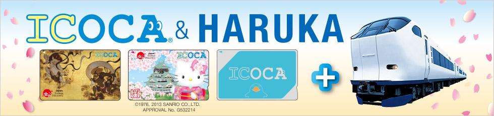 ICOCA+HARUKA号的套装票