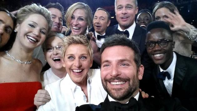 The 86th Academy Awards-ellen twitter