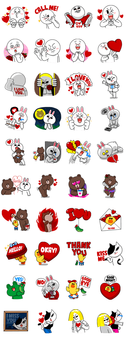 line stickers 2276