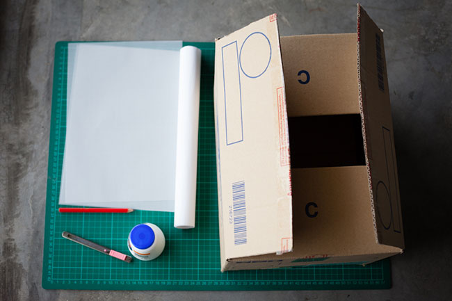 DIY攝影棚0元-材料