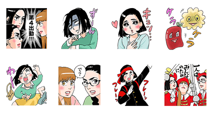 20160721 line stickers