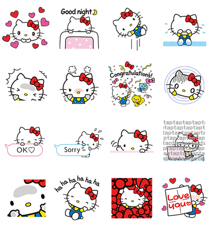 LINE POP UP STICKERS (3)