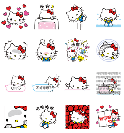 LINE POP UP STICKERS (5)