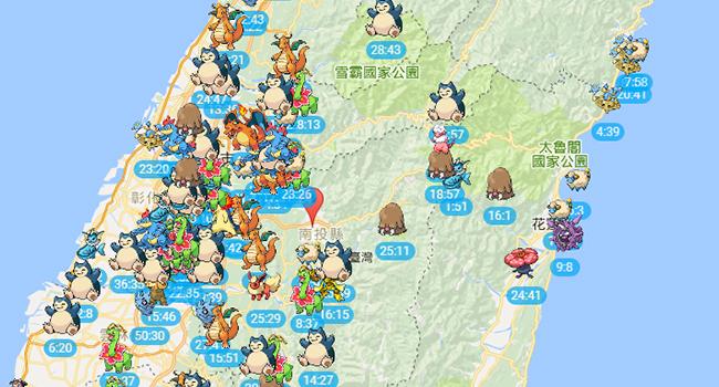 Pokemon-Go-map-寶可夢雷達