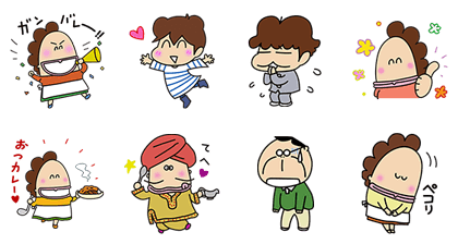 20161205 free line stickers