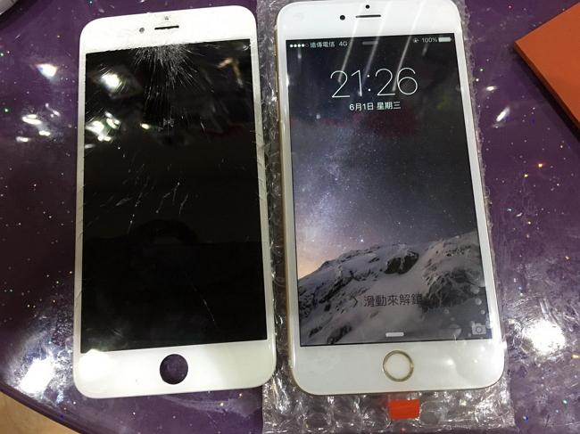 2017 iphone維修推薦 螢幕破碎維修完成4