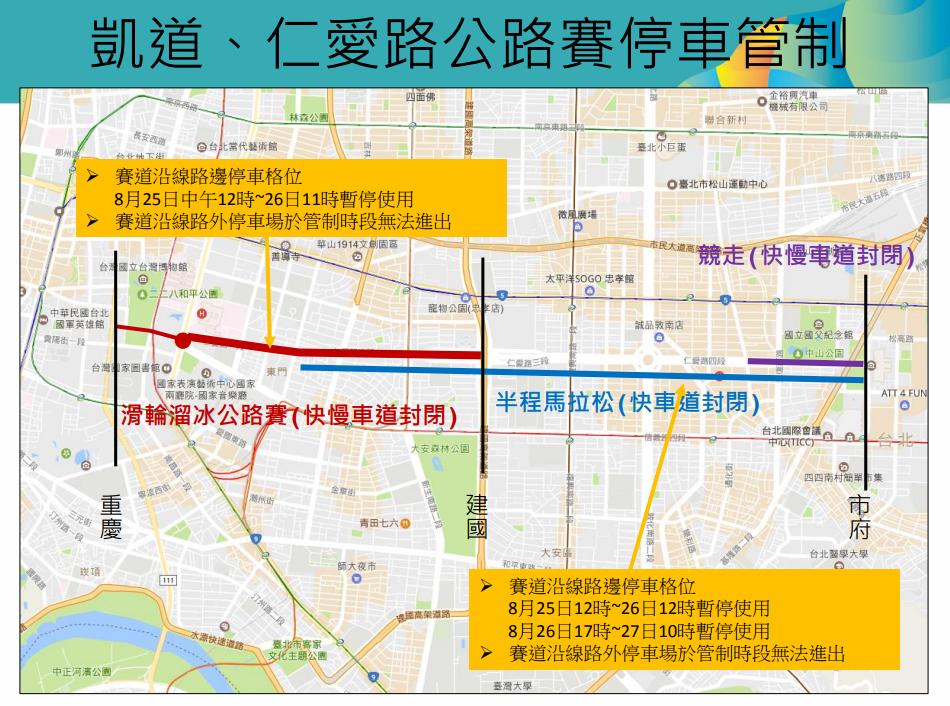 世大運公路賽-管制圖2