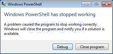 powershell-error